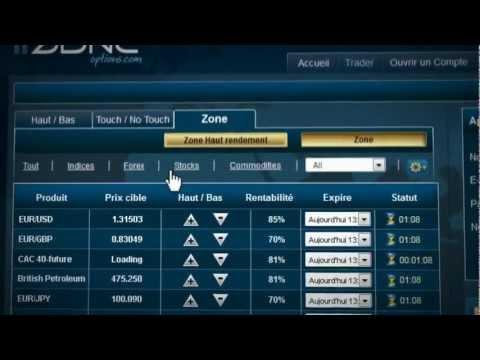prekybininkas avec les options binaires rasti prekybos galimybes