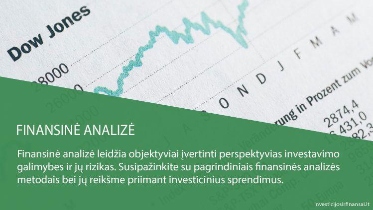 ne akcijų rinkos investavimo galimybės