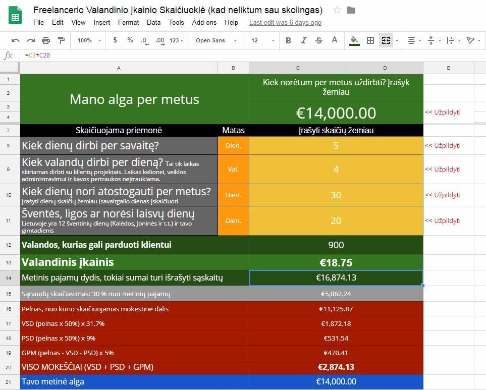 opcionų prekybos excel skaičiuoklė min bal pradti prekiauti vietiniais bitkoinais