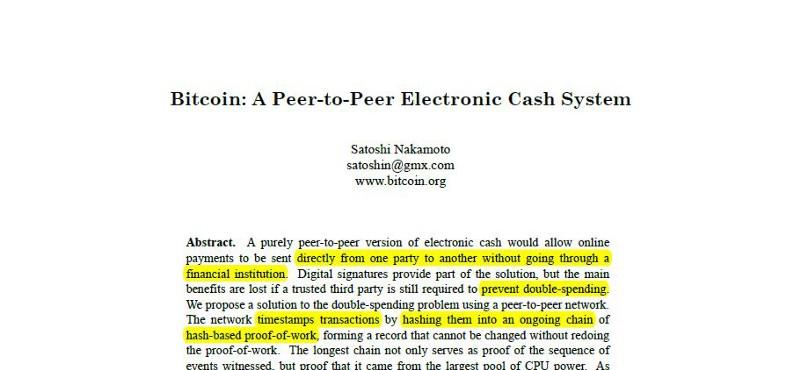 satoshi original bitcoin paper